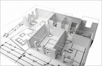 3D Grundriss Immobilie